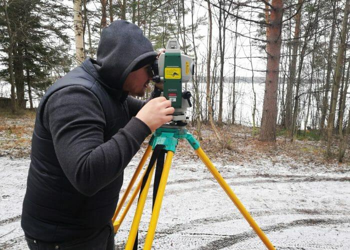 Топографическая съемка кадастрового инженера