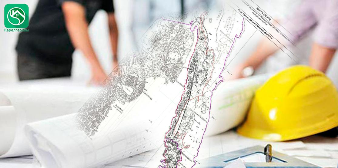 Изоображение карты (плана) объекта землеустройства