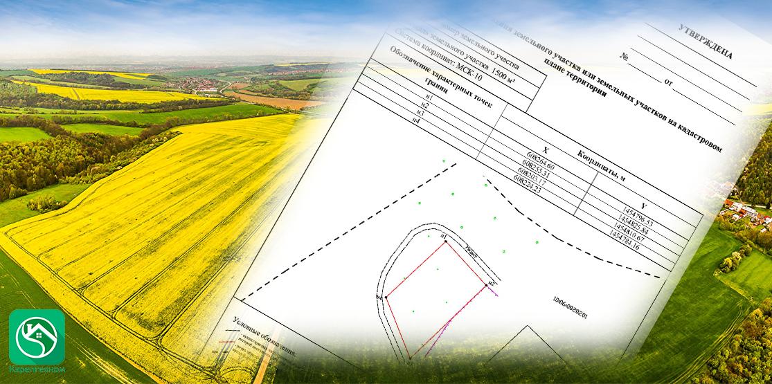 Изоображение схемы расположения земельного участка