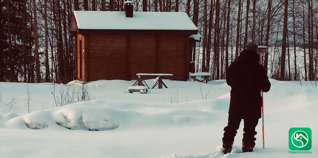 Кадастровый инженер зимой